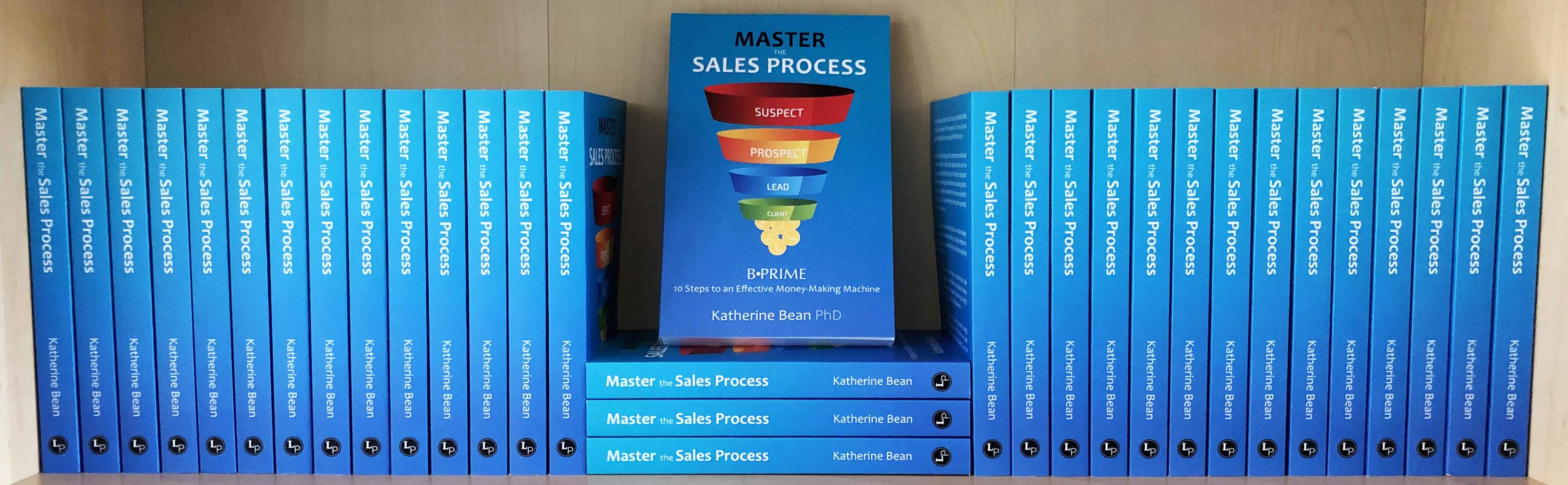 An image of B•PRIME: Master the Sales Process, showing what you are purchasing.